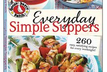 Everyday Simple Suppers | Gooseberry Patch cookbook / These are recipes from our cookbook, Everyday Simple Suppers, that have been featured by some of our favorite bloggers! The names of the dishes are in the descriptions...click through for complete recipes. Have YOU tried a recipe from this book? Email us (gooseberrypatch@gooseberrypatch.com) and we'd be happy to add you as a contributor to this board!