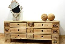Möbel aus Europaletten Holz / Geniale Möbeln und Ideen upgecycelt aus Europaletten und Holzreste. In Handarbeit hergestellt. Wunderschöne Unikate!