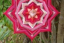 Mandalas de lã