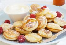 Dutch pancakes (poffetios)
