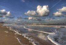 Strand,wind en water