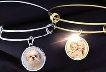 Holiday Gift Ideas / Personalized Jewelry Gift Ideas. Perfect for everyone and anyone.  / by PicturesOnGold.com