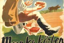 Illusztrációk és plakátok