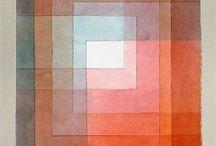 Couleurs primaires / Voici quelques œuvres où les couleurs prédominantes sont le bleu, le rouge et le jaune