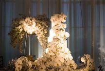 свадьба торт декор