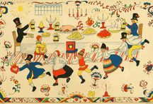European folk art