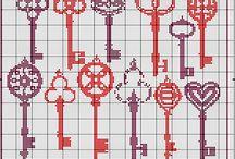 Crossstitch / Crossstitch, kanaviçe, çarpıişi, needle point, needlecraft