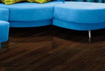 Dark Hardwood Floors / One of today's hottest flooring trends is dark hardwood. The perfect way to create a modern, contemporary look or update a classic decor. Espresso, Ebony and Jacobean are popular stains for this striking statement.