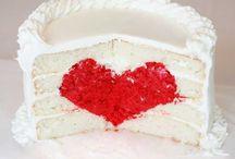 heart surprise inside cake