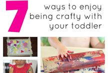 toddler activity and art