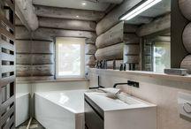 Rénovation chalet en fuste - style contemporain