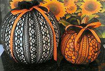 Pumpkin decorating  / by Danielle Campanaro