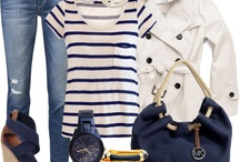 Nautical style / Nautical marine sea style fashion clothes outfits