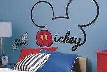 Marek pokoj / Mickey mouse