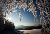Snow in Bohemia / The beauty of winter in Czech Republic