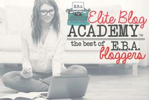 Best of EBA Bloggers / This is a shared board for members of Elite Blog Academy to share the very best of your AWESOME content.  All posts shared here MUST follow the guidelines for pillar content found in Unit 2, as well as the guidelines for images found in Unit 3. In addition to sharing your own content, please take the time to view and comment on posts from your fellow EBA students. Please note that there is a limit of ONE pin per day, and that this board is available by invitation only to EBA students.