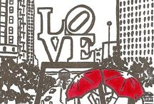 Philly=LOVE / by Samantha Blazon