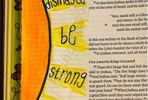 Bible Journaling - Joshua