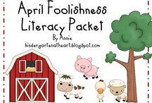Kindergarten Literacy / by Jan StClair