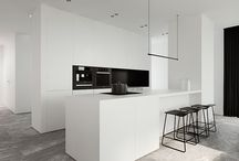 house interior white