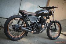Susuki gn125 custom