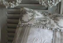 shabby chic cushions / by lynn simms