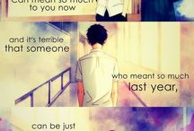 Anime and Manga Quotes