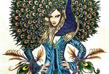 Bennet Klein - color my sketchbook