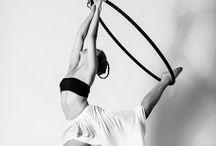Aerial Hoop / Aerial Silk / Because trying Pole Dancing wasn't enough!