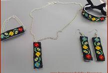 Set bijuterii tricolore