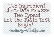Keto Diet Recipes - Chocolate Mousse