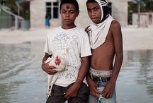 Ciril Jazbec - Kiribati / contextos de los retratos