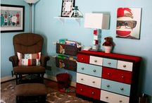Nathan's big boy room / by Jennifer Brown-Carlson