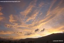 Sunset sequences 33 / Sunset sequences over the Andes, Pichincha Volcano, Quito, Ecuador