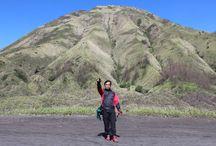 Kawah Bromo / Area Wisata Gunung Bromo Probolinggo-Jawa Timur