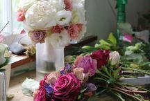 Romantic Wedding Flowers / Pretty & romantic wedding flowers