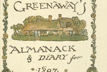 Kate Greenaway's Almanack for 1897