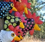 hens paper Clay