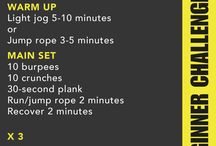 Phase III - Spartan Sprint Training / by Marie Burns Holzer