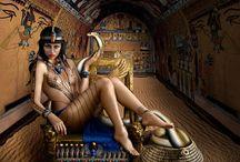 Egypt Bodypainting