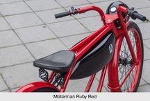 Fancy e-bikes / Fancy e-bikes with Crystalyte Europe motors