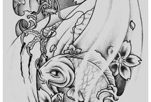 Tatueringsskisser