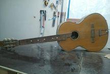 Guitar restoration / Αποκατάσταση