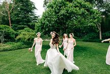 #justgotpaiged / A round up of beautiful bombshell brides, all idiosyncratically special and dawning Hayley Paige bridal gowns.