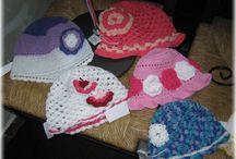 crocheted hats summer - háčkované letní kloboučky / crocheted hats summer - háčkované letní kloboučky