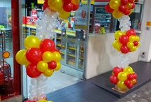 Balloon Decor / Having a different theme is great for your next event.  Let us help you create that look.  www.yourmainstream.com