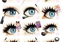 Куклы (Dolls) / costumes, images, makeup, manicure, ideas