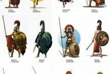 Greek hoplitas