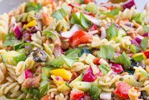 Salads / Greens, vegan, lentils, beans, veggies, dressing