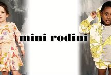 MINI RODINI SS16 / This brand create designs that epitomise the playfulness and innocence of children whilst pays attention to quality to ensure that each little one feels comfortable when embarking on adventures.